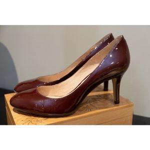 Louise et Cie Celica Brown Patent Pumps Shoes 8